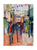 North Laines, Brighton Giclee Print by Sylvia Paul