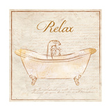 Romantic Bath Relax Posters by Piper Ballantyne