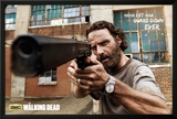 The Walking Dead Rick Gun Posters