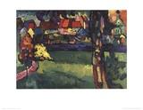 Murnau Samlertryk af Wassily Kandinsky