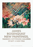 New Painitings Collectable Print by James Rosenquist
