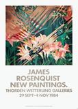 New Painitings Stampe da collezione di James Rosenquist