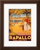 Rapallo Print by Riviera Ligure