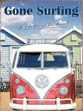 VW Gone Surfing Blikkskilt