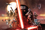 Star Wars- Galaxy Plakat