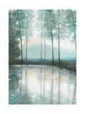 Morning Trees 1 Premium Giclee Print by Norman Wyatt Jr.