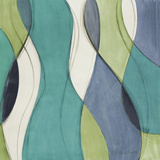 Coastal Greens Coalescence I Prints by Lanie Loreth