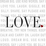 Love and Life I Prints