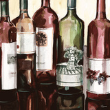 B&G Bottles Square II Posters by Heather French-Roussia
