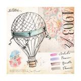 France Sketchbook Print by Angela Staehling
