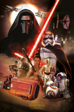 Star Wars- Montage Poster