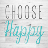 Choose Happy Square Posters by  SD Graphics Studio