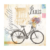 Bicyclette Sketchbook Posters by Angela Staehling