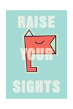 Annimo Raise Your Sights Prints