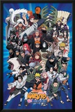 Naruto Characters Print