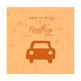 Let's Travel 4 Posters av  Z Studio