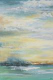Nebliger Morgen Kunstdruck von Patricia Pinto