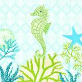 Seahorse Reef II Print by Andi Metz