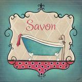 Bain and Savon II Poster by  Josefina