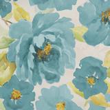 Teal Floral Delicate II Prints by Lanie Loreth