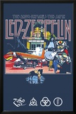 Led Zeppelin Remains Print