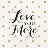 Love Words Black I Posters