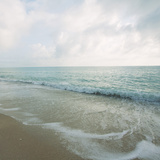 Beach Scene III Print by Susan Bryant