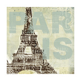 Trendy Paris Posters by Melissa Pluch