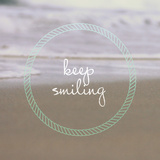 Keep Smiling Prints by Lisa Hill Saghini