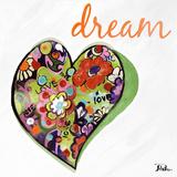 Expressive Heart II Kunst von Patricia Pinto