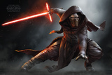 Star Wars- Kylo Ren Crouch Photo