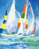 Come Sail Away Posters by Jane Slivka