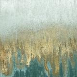 Teal Woods In Gold II Kunstdrucke von Roberto Gonzalez