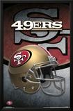 San Francisco 49Ers- Helmet 2015 Posters