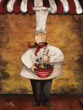 The Gourmets III Print by Elizabeth Medley