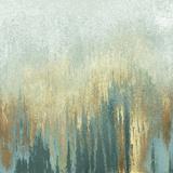 Teal Woods In Gold I Poster von Roberto Gonzalez