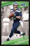 Seattle Seahawks- Russell Wilson 2015 Poster