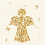 Golden Angels I Prints by  A Fresh Bunch