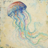 Creatures of the Ocean I Poster von Patricia Pinto