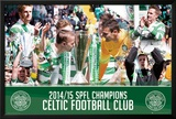 Celtic League Winners 14/15 Posters