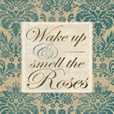 Wake Up And Smell The Roses Print by Elizabeth Medley