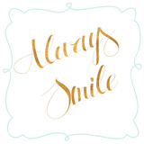 Beautiful and Smile II Prints by  SD Graphics Studio