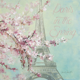 Paris in the Spring II Prints by Lanie Loreth