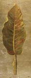 Arte Verde on Gold I Poster von Patricia Pinto