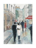 Paris Impressions 3 Premium Giclee Print by Norman Wyatt Jr.