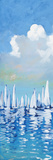 Regatta On Sea II Art by Dan Meneely