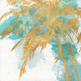 Beach Palm Watercolor I Poster von Patricia Pinto