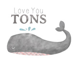 Tons Whale Prints by Tiffany Everett