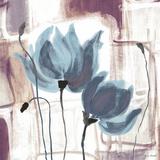Blue Magnolias II Print by Lanie Loreth