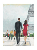 Paris Impressions 2 Posters by Norman Wyatt Jr.
